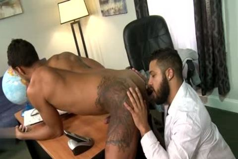 Latin homo blowjob sex With Facial