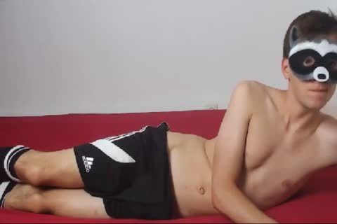 18yo SMOOTH lad SHOWING HIS chubby STIFFY ON cam