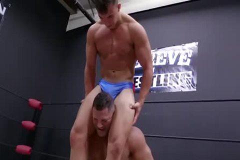 Daddy And Son Wrestling! Daddy Is So sweet In Minimal Speddo, not quite A thong