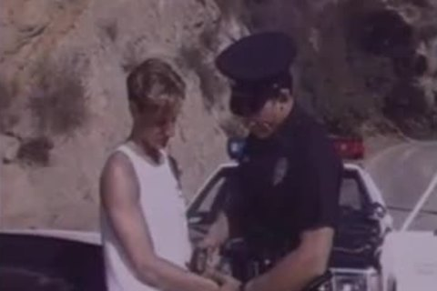 twink Arrested By Cop & Hard fucked.