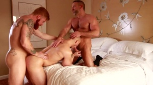 nice-looking lad - Dirk Caber and John Magnum ass Hook up