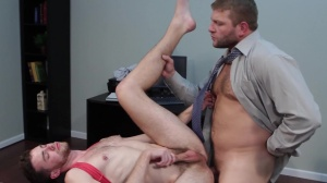 The trickle - Colby Jansen, Brandon Moore anal Hump