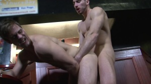Cruising video 4 - Gabriel Clark with Leo Domenico butthole Hook up