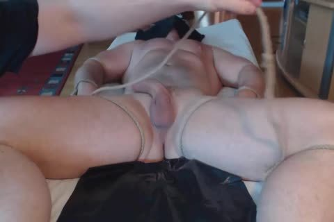 An gripping dick And Prostate Massage