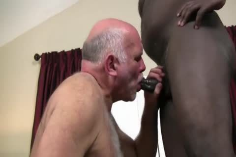 Interracial old couple nail raw