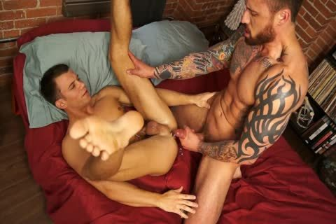 Randyblue.com - Jordan Levine nails Brett For The Holidays