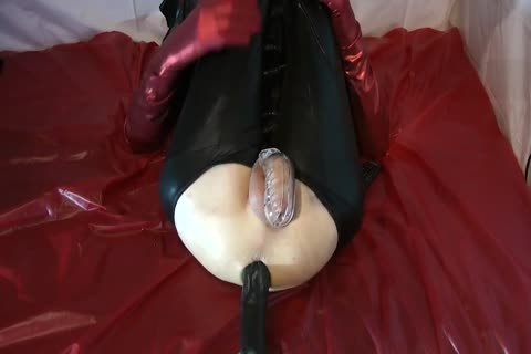 Sissy Doll boned Red Pumps biggest sextoy