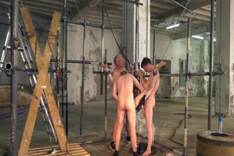 Sub twinks Interviewed previous to bondage And coarse unprotected