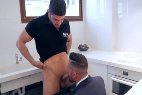 receive His arse nailed By Plumber
