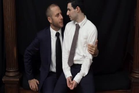 MormonBoyz - lustful Priest Punishes A juvenile Missionary's butt