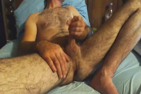 hairy old chap Grabs His rod And Wanks