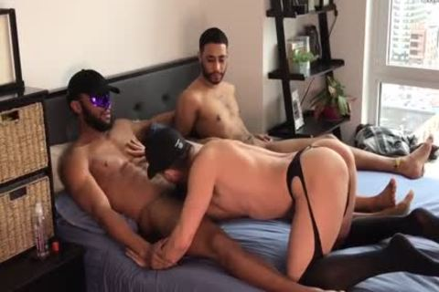 2 large penises darksome TOPS - GETTING IT IN