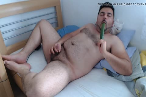 Licked Alternative sex tool, With concupiscent cumshot