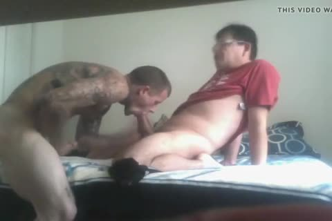Bi boy Sucks And Takes bare penis