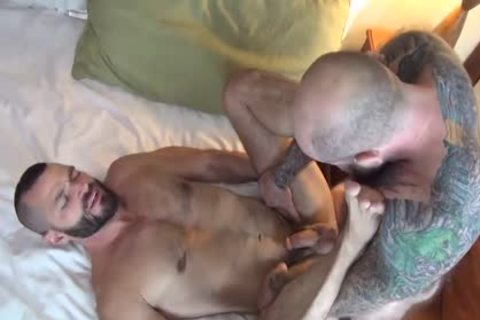 Hung hirsute Muscle Daddies
