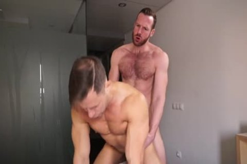 Ginger Daddy bonks Russian lad Hard!