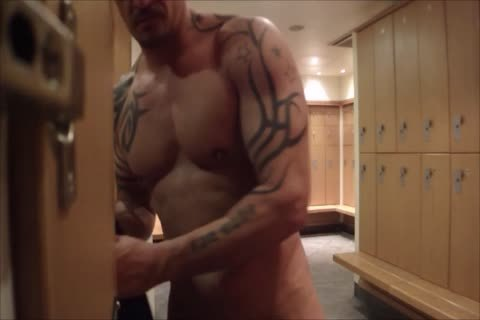 Showing Off In The Locker Room