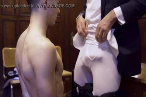 MormonBoyz - Ripped Missionary lad Permeates A Powerful Priests sexy butthole