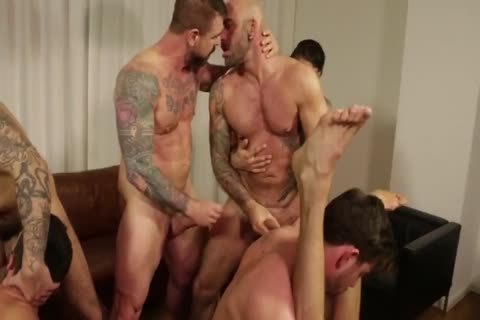 group orgy - Rocco Steele