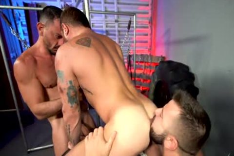 Threeway raw Flip pounding With RileyMitchel JoeGillis & LeoGrin