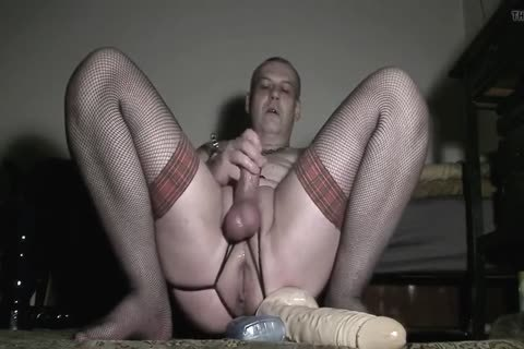 Wicked boy toying arse