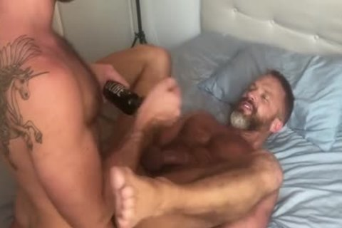 bare Porn Star three-some!!