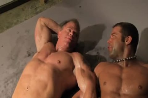 Rick Hammersmith Muscle Worshipped Then pounded By Darius Soli