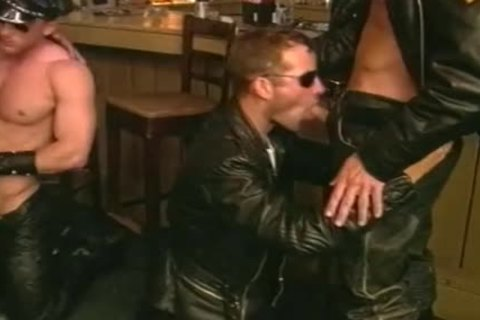 weenie Hungry Biker men engulf One one greater amount Off At The Bar