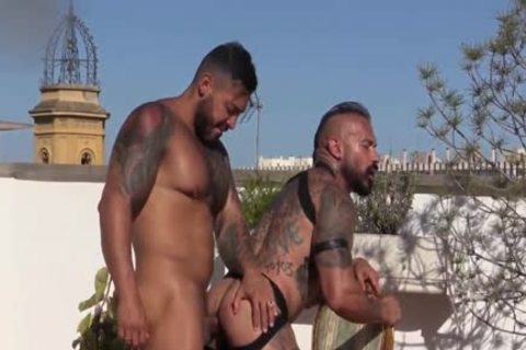 bare RoofTop Summer poke With Viktor Rom & Santi Noguera