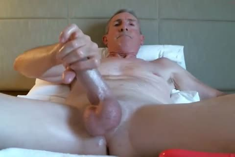 large Dicked dad stroking 035