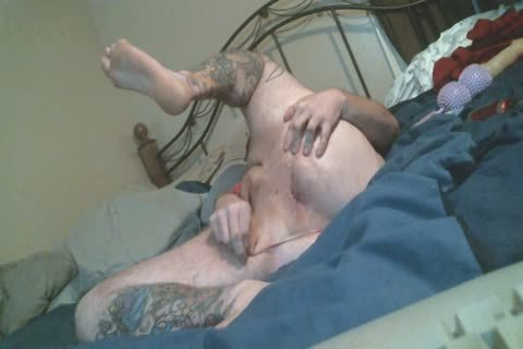 Harity fat Bear widens butthole In belt panties Rides toy