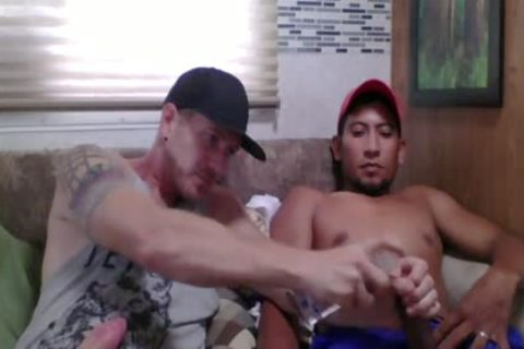Straight Latino Construction Worker acquires First handjob From A man (Martin two)