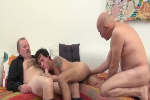 A Son's three-some With His Father And Father In Law