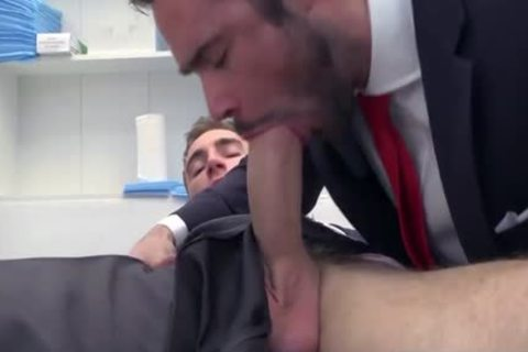 large penis Doctor ass stab With ejaculation