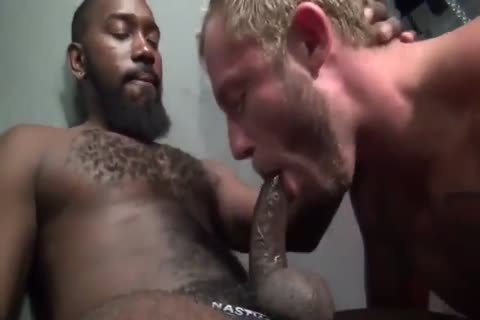 trio bareback pounding With muscular juvenile gays