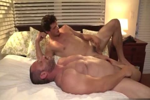Torrid arsehole Sex With Hulking Muscled homosexuals