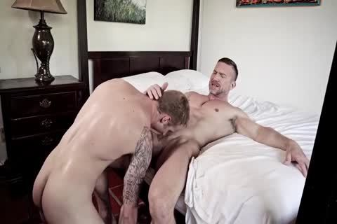 GayRoom Smooth wazoo Sleeper Awakens For A monstrous wazoo nailing
