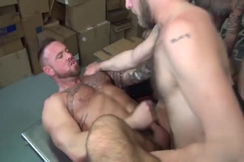 Masseur Discovers Clients Erected penis