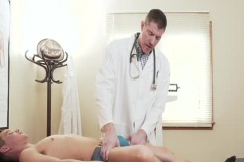 petite Size twink's taut gap pounded By massive shlong Doctor During Exam
