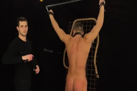 Muscled Hunks get Bums Damaged In A Merciless thraldom & Discipline Game