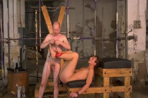 tied Up twink Endures rough bare plowing By dom