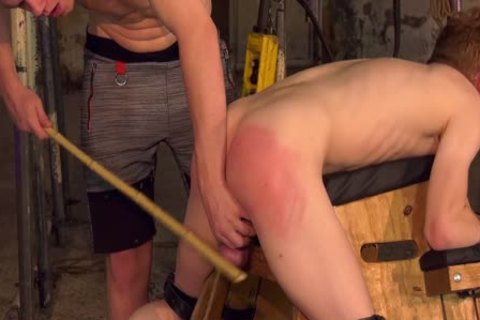 Skinny obedient twink sadomasochism Dominated By His coarse taskmaster