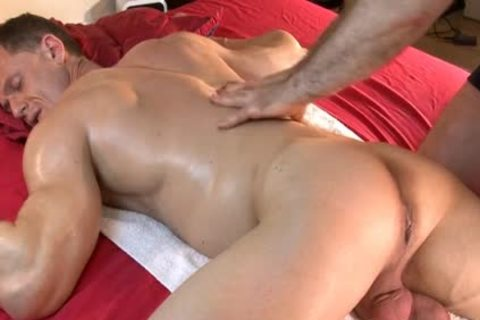 So gracious brawny Male gets Massages By 2 boys In Spite Of Him : Stefen