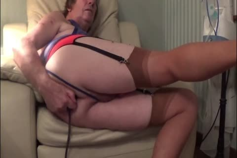 Straight older aged underware fake penis anal fifty