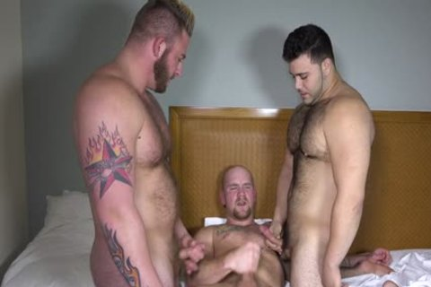 Aaron, Marcello, And Jr poke