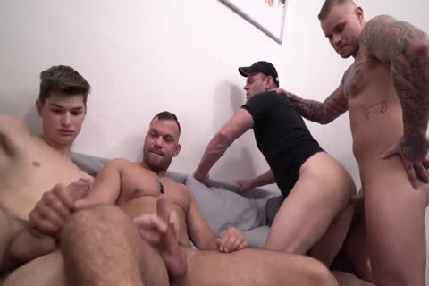 30 men sperm Party Scene 5