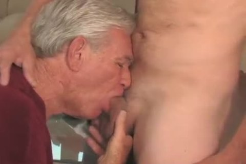 pleasing old man sucking & Getting boned By Younger lad