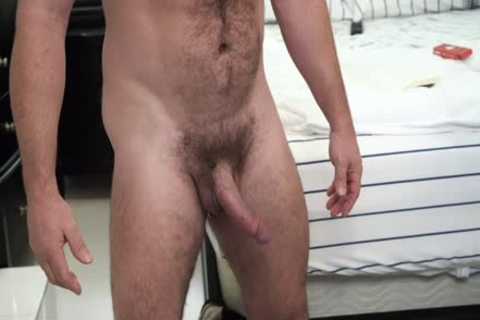 hairy Stepdad acquires His penis Sucked By Son