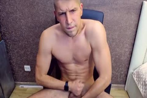 Benjamin Great On Flirt4Free - Ripped Russian College Hunk Tastes his sperm