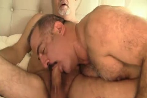 Two Daddies Play: giving a kiss-blowjob -BB-ATM-BB- POWERFUCK-BB-HJ-sperm